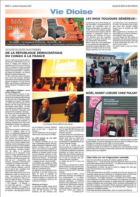 Journal du Diois Décembre 2016